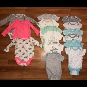 Newborn one piece bundle
